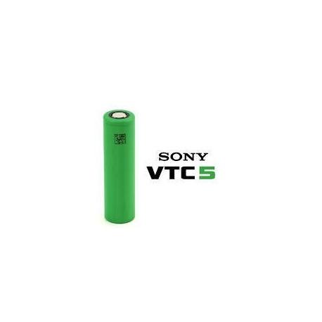 Batterier Sony Konion 18650 VTC5 3.7V 2600mAh 15C 20A eclshop.dk