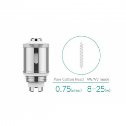 Coils Eleaf GS-Air 2 Pure Cotton Coil - 5pak eclshop.dk