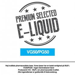 Nikotin baser & Kits VG50/PG50 base eclshop.dk