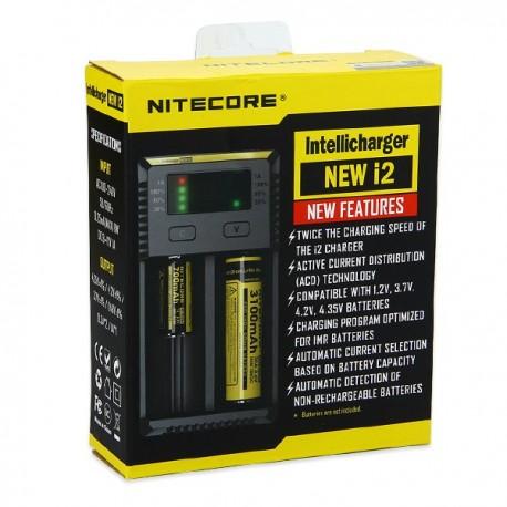 Opladere Nitecore i2 oplader eclshop.dk