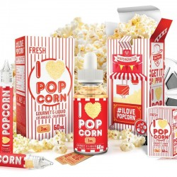 USA Premium Juice I LOVE POPCORN 60ML./0MG. eclshop.dk