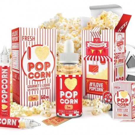 USA Premium Juice I LOVE POPCORN 60ML./0MG. eclshop.dk