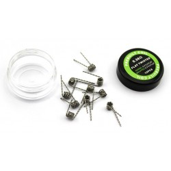 LANTAIQI Premade Flat Twisted Wire 10 stk. 0.36 oHm
