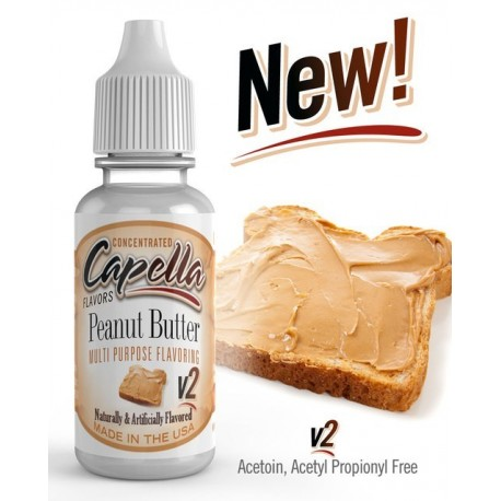 Capella Peanut Butter V2 Aroma - CAP eclshop.dk