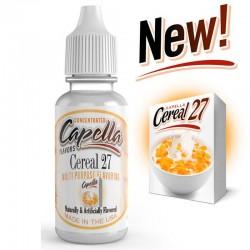 Capella Cereal 27 Aroma - CAP eclshop.dk