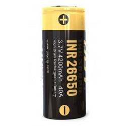 Batterier Ijoy INR 26650 4200 mah Batteri eclshop.dk