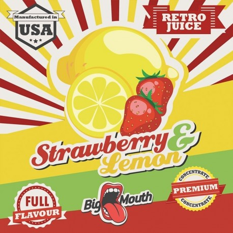 Big Mouth Strawberry & Lemon Aroma - Big Mouth eclshop.dk