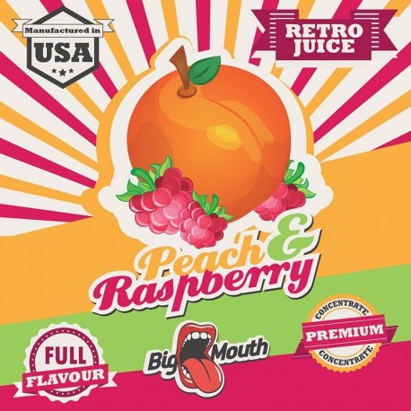 Big Mouth Peach & Rasberry Aroma - Big Mouth eclshop.dk