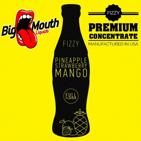 Big Mouth Fizzy - PINEAPPLE, STRAWBERRY, MANGO Aroma - Big Mouth eclshop.dk