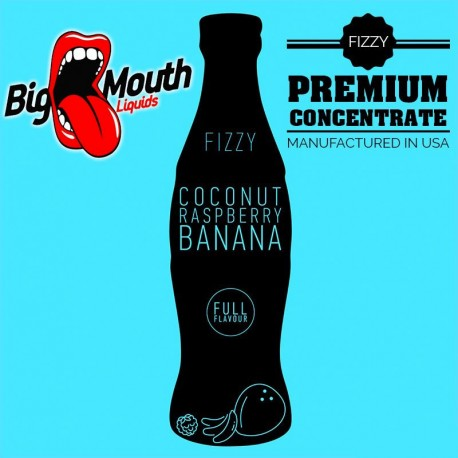 Big Mouth Fizzy - COCONUT, RASPBERRY, BANANA Aroma - Big Mouth eclshop.dk