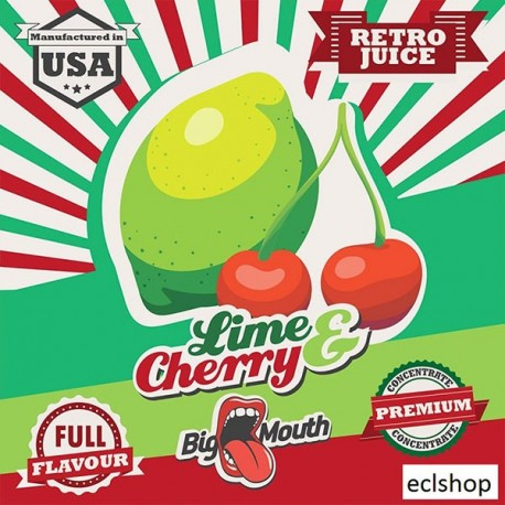 Big Mouth Lime & Cherry Aroma - Big Mouth eclshop.dk