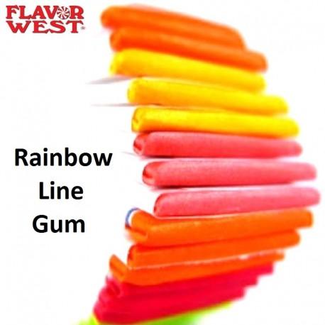 Flavour West Rainbow Lined Gum - FW eclshop.dk