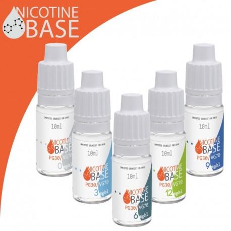 Nikotin baser & Kits Nikotin Base 10ml. eclshop.dk