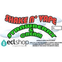Strawberry & Cream - Shake n' Vape