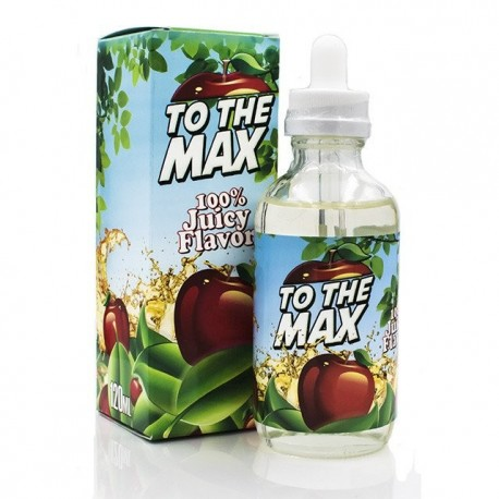 USA Premium Juice To the MAX Apple By Flawless 120ML./0MG. eclshop.dk