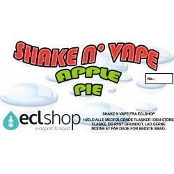 E-væske Apple Pie - Shake n' Vape eclshop.dk