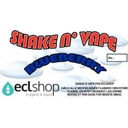 E-væske Blueberry - Shake n' Vape eclshop.dk