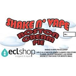 E-væske Boston Cream Pie - Shake n' Vape eclshop.dk