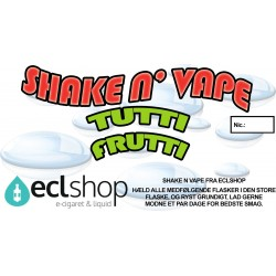 E-væske Tutti Frutti - Shake n' Vape eclshop.dk