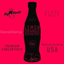 Big Mouth Fizzy - LEMON | ORANGE | RASPBERRY Aroma - Big Mouth eclshop.dk