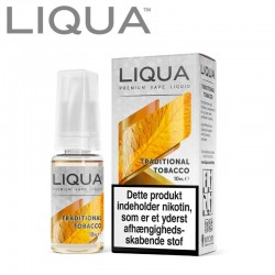 Liqua 10ml. Traditional Tobacco