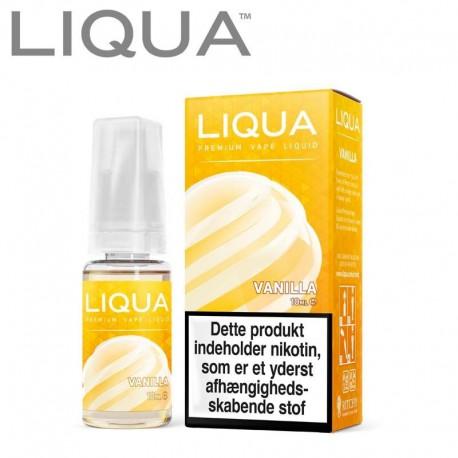 LIQUA Vanilla Liqua 10ml. eclshop.dk
