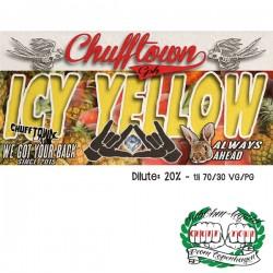 Chuff Town & Ohmen Chuff Town CPH Aroma - Icy Yellow - 10ml. eclshop.dk