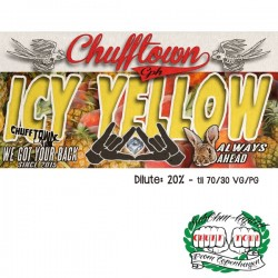 Ohmen, SÖD & Chuff Town Chuff Town CPH Aroma - Icy Yellow - 10ml. eclshop.dk