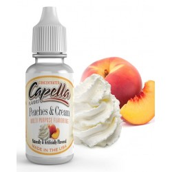 Capella Peaches and Cream Aroma - CAP eclshop.dk