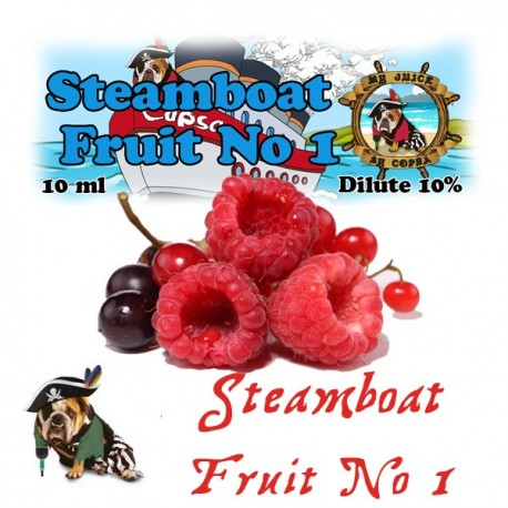 Copsa & T-Juice COPSA Aroma - Steamboat Fruit No. 1 Aroma 10ML. eclshop.dk