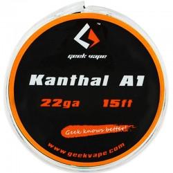 DIY - Tråd, Vat & Værktøj GeekVape Kanthal A1 Tape Wire - 5m eclshop.dk