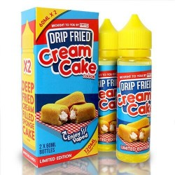 E-væske Drip Fried Cream Cake by FRYD - 120ml./0mg. eclshop.dk