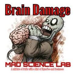AROMA Brain Damage - Mad Science Lab Aroma - 10ml. eclshop.dk