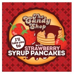 The Candy Shop - Strawberry Syrup Pancakes Aroma - Big Mouth