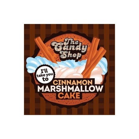 Big Mouth The Candy Shop - Cinnamon Marshmallow Cake Aroma - Big Mouth eclshop.dk