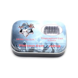 Coils DEMON KILLER Clapception Coil 0.35 ohm - 10stk eclshop.dk