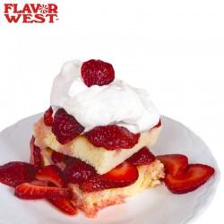 Flavour West Strawberry Shortcake - FW eclshop.dk