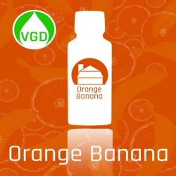AROMA Liquid Barn - Orange Banana, 15ml. eclshop.dk