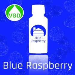 AROMA Liquid Barn - Blue Raspberry, 15ml. eclshop.dk