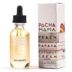 E-væske Pachamama - Peach Papaya Coconut Cream by Charlie's Chalk Dust - 60ml./0mg. eclshop.dk