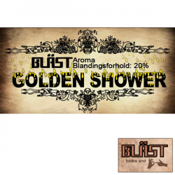 BLÄST & Mad Science Lab (MSL) Golden Shower, BLÄST Aroma - 10ml. eclshop.dk