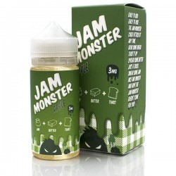 USA Premium Juice Apple BY JAM MONSTER 100ml./0mg. eclshop.dk
