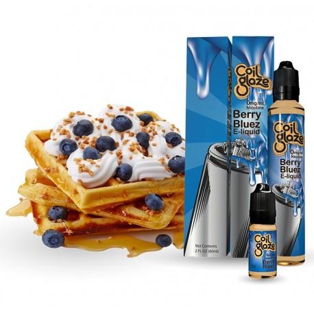 E-væske Berry Bluez - Coil Glaze - 10ml. eclshop.dk