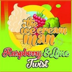 Udsalg Raspberry & Lime Twist - Ice Cream Man Aroma - 10ml. eclshop.dk