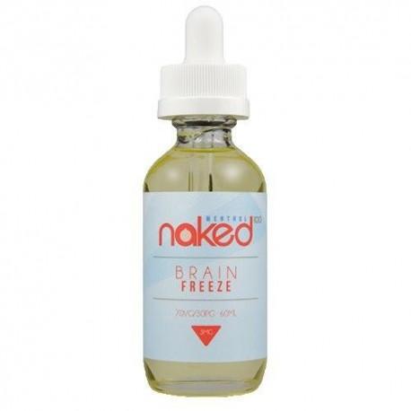 Naked 100 Naked 100 - Brain Freeze - 60ml./0mg. eclshop.dk