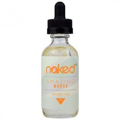 Naked 100 Naked 100 - Amazing Mango - 60ml./0mg. eclshop.dk