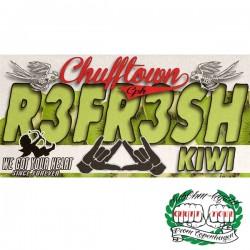 Ohmen, SÖD & Chuff Town Chuff Town CPH Aroma -R3fr3sh Kiwi - 10ml. eclshop.dk