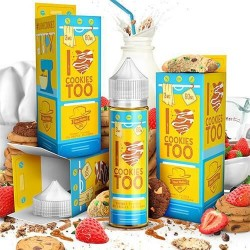 USA Premium Juice I LOVE COOKIES TOO 60ML./0MG. eclshop.dk
