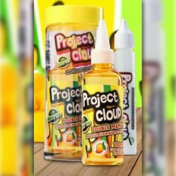 Mad Hatter & Project Cloud Double Mango (Yellow) by Project Cloud - 100ml./0mg. eclshop.dk