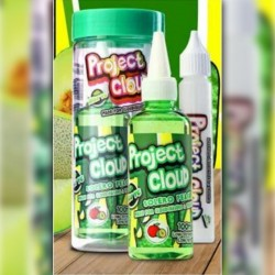 Mad Hatter & Project Cloud Peach Solero (Green) by Project Cloud - 100ml./0mg. eclshop.dk